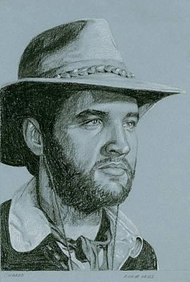 Elvis Presley Drawing - Charro by Rob De Vries