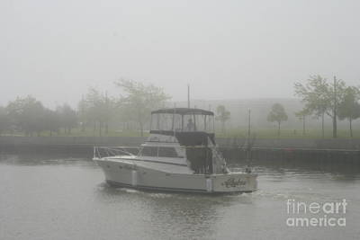 Photograph - Charter Fishing Boat by Kay Novy
