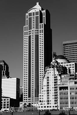 Photograph - Chase Building In The Sun by Ronda Broatch