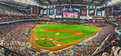 Photograph - Chase Field 2013 by C H Apperson