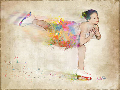 Athlete Digital Art - Chase Your Dreams by Nikki Smith