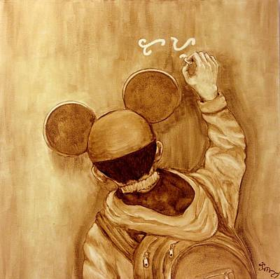 Hoodies Painting - Chasing Adobo Dreams by Clarisse Pastor-Medina