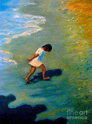 Painting - Chasing Shadows-3 by Gretchen Allen