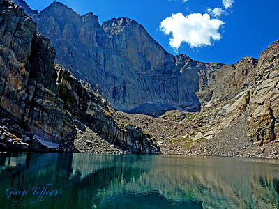 Photograph - Chasm Lake Colorado by George Tuffy