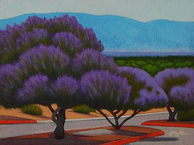 Painting - Chaste Trees by Gayle Faucette Wisbon
