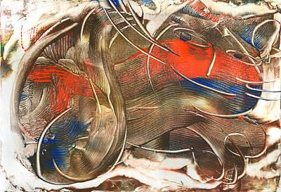 Chat Accompli Art Print