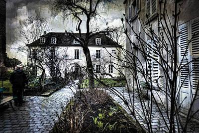 Chat Noir Gallery Paris France Art Print