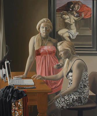 Music Ipod Painting - Chat by Sierk Van Meeuwen