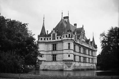 Photograph - Chateau Azzay-le-rideau by Matthew Pace