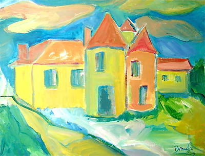 Painting - Chateau by Brenda Ruark