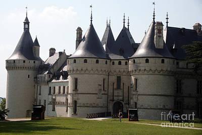 Chateau Chaumont Sur Loire Art Print by Ros Drinkwater