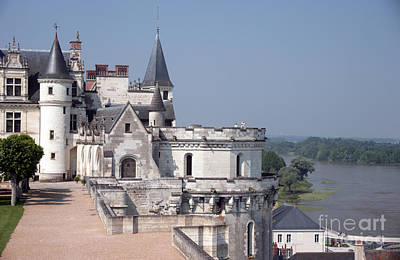 Chateau D Amboise Art Print by Ros Drinkwater