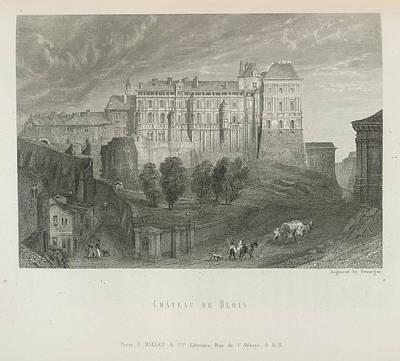 Chateau De Blois Art Print by British Library
