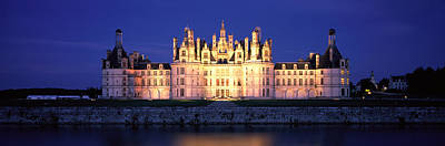 Chateaux Photograph - Chateau De Chambord Loire France by Panoramic Images