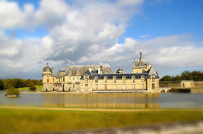Photograph - Chateau De Chantilly by Diana Haronis