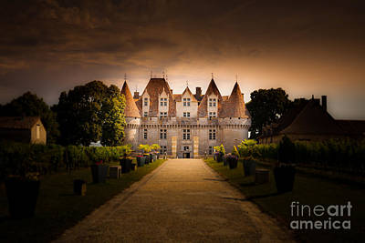Photograph - Chateau De Monbazillac France by Peter Noyce