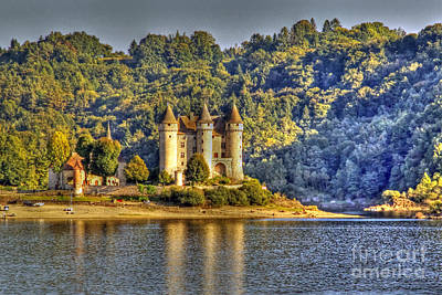 Photograph - Chateau De Val On The Dordogne River by Rod Jones