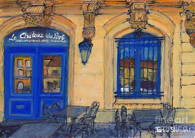 Chateau Du Port - Marseillan - France Art Print by Jackie Sherwood