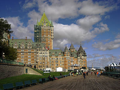 Chateau Frontenac Quebec City Art Print