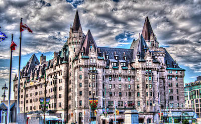 Photograph - Chateau Laurier by Bianca Nadeau