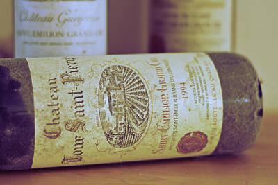 Table Wine Photograph - Chateau Tour Saint Pierre by Georgia Fowler