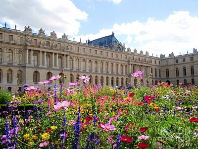 Photograph - Chateau Versailles - France by Cristina Stefan