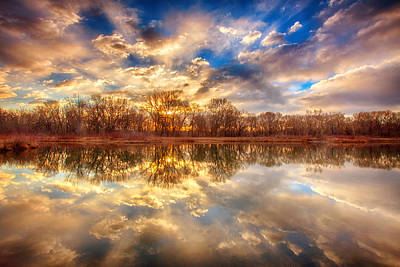 Photograph - Chatfield Sunrise by Darren  White
