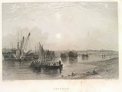 Chatham Photograph - Chatham by British Library