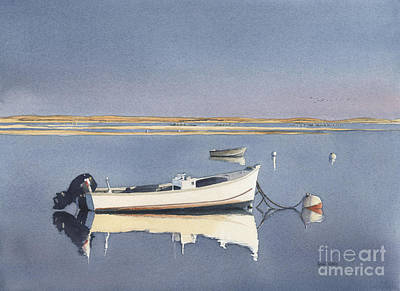 Cape Cod Painting - Chatham Calm by Heidi Gallo