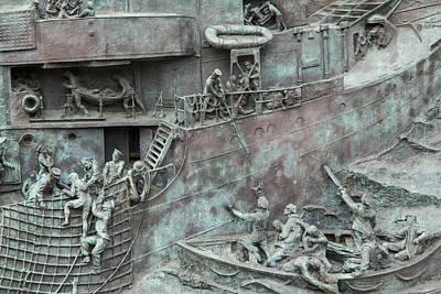 Chatham Dockyard Memorial Art Print