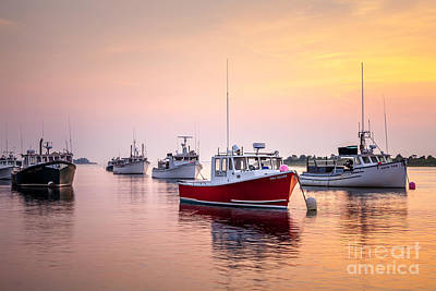 Photograph - Chatham Harbor Fishing Fleet by Susan Cole Kelly