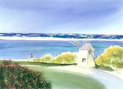 Chatham Painting - Chatham Harbor July by Joseph Gallant