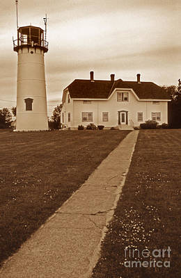 Chatham Lighthouse Art Print by Skip Willits