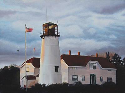 Chatham Lighthouse Original by Sue Birkenshaw