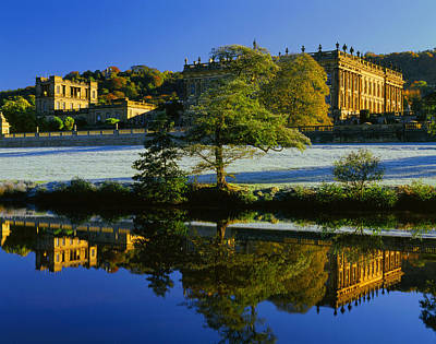 Peak District Photograph - Chatsworth House by Darren Galpin
