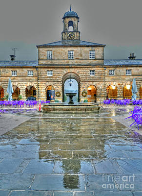 Photograph - Chatsworth Stables by Rod Jones