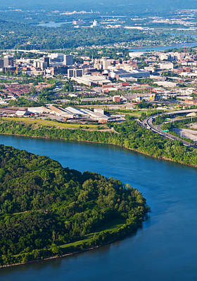 Photograph - Chattanooga Cityscape by Melinda Fawver