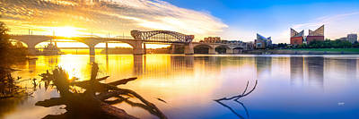 Chattanooga Sunrise 2 Art Print by Steven Llorca