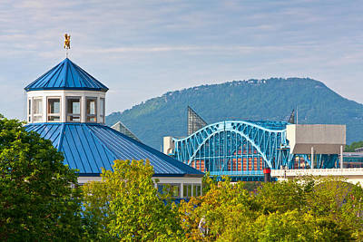 Photograph - Chattanooga View by Melinda Fawver