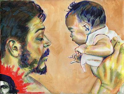Painting - Che El Padre by Charles  Bickel