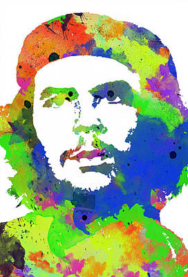 Civil Rights Painting - Che Guevara by Celestial Images