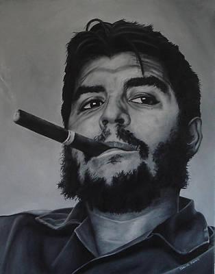 Che Guevara Print by David Dunne