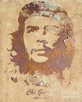 Marxism Painting - Che Guevara Forever by T Lang