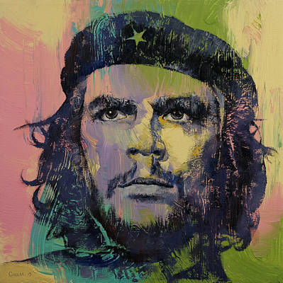 Cuba Painting - Che Guevara by Michael Creese