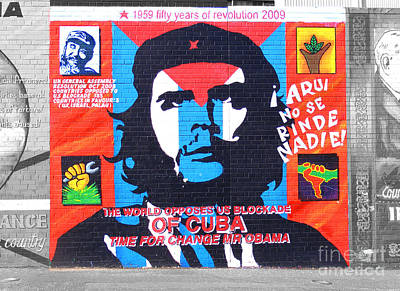 Photograph - Che Guevara by Nina Ficur Feenan