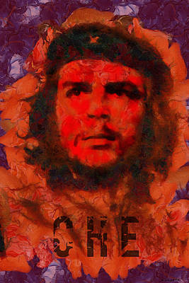 Che Art Print by Kai Saarto
