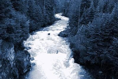 Photograph - Cheakamus Glacial River - Whistler by Amanda Holmes Tzafrir