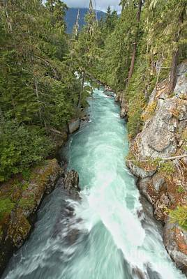 Photograph - Cheakamus River Gorge - British Columbia by Adam Jewell