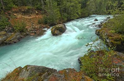 Photograph - Cheakamus River Rapids by Adam Jewell