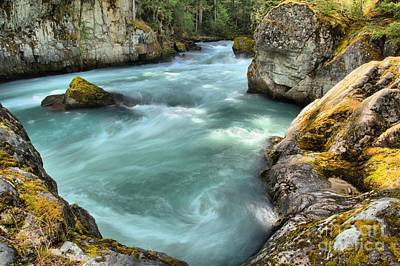 Photograph - Cheakamus River Swirls by Adam Jewell